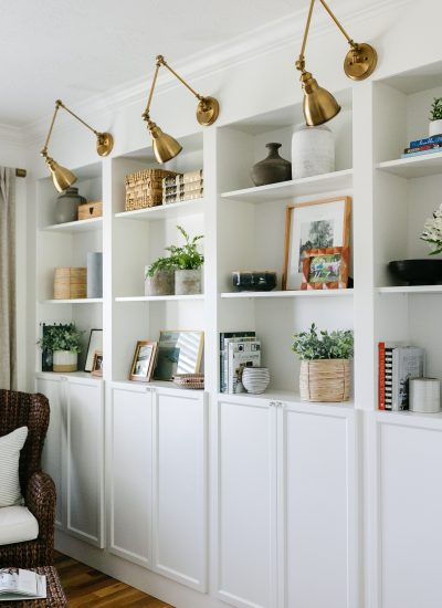 IKEA Billy Bookcase Hack – Wall Of Built-ins