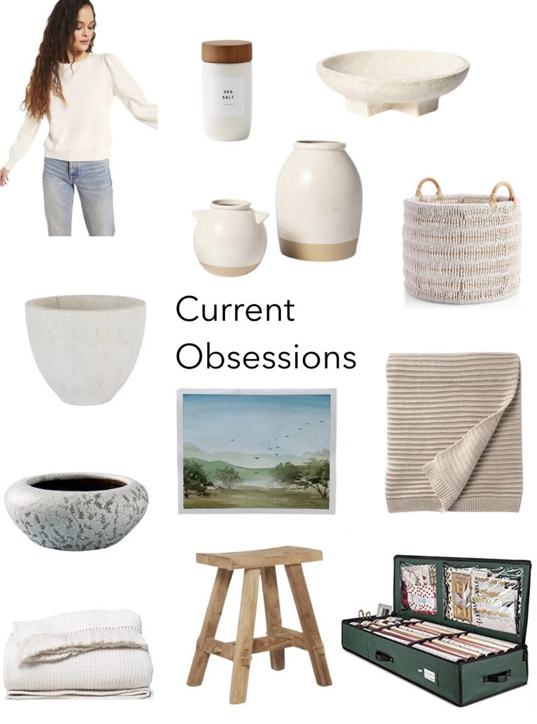 current obsessions my favorite things this week
