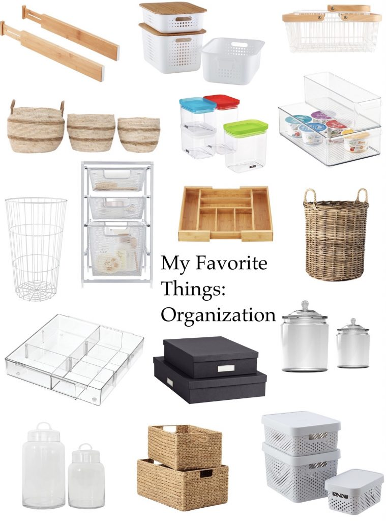 My favorite organizing items for the kitchen, laundry room, office, bathroom, kids spaces