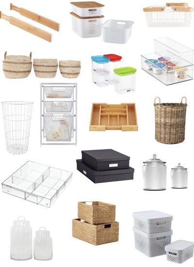 My 31 Must-Have Organizing Products