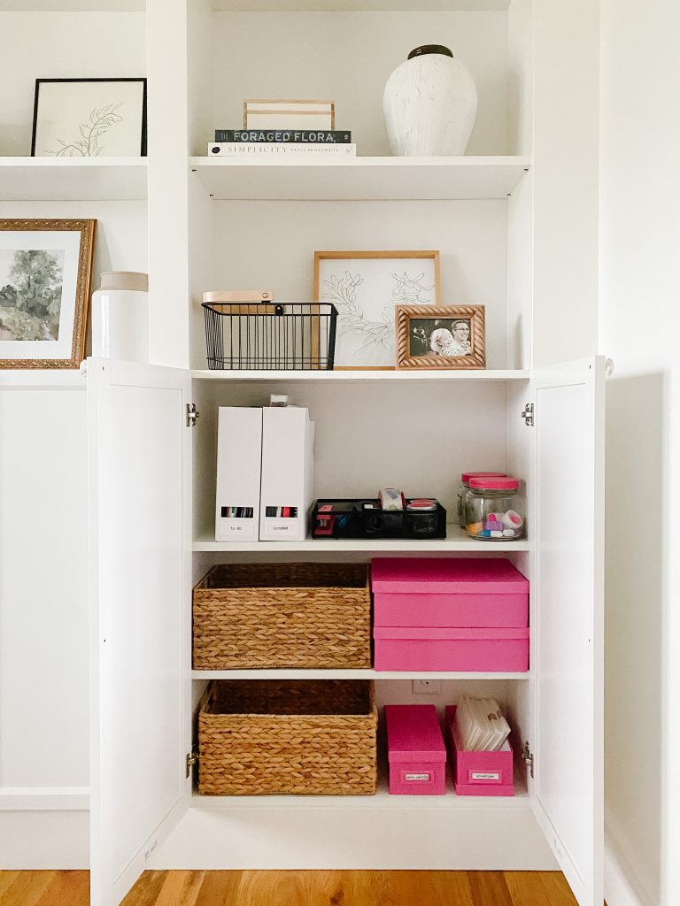 keeping organized in 2021 office supply organization including bins, trays and baskets