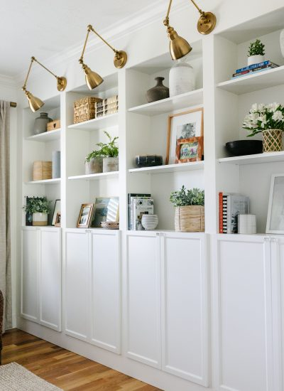 8 Items To Use For Easy Shelf Styling