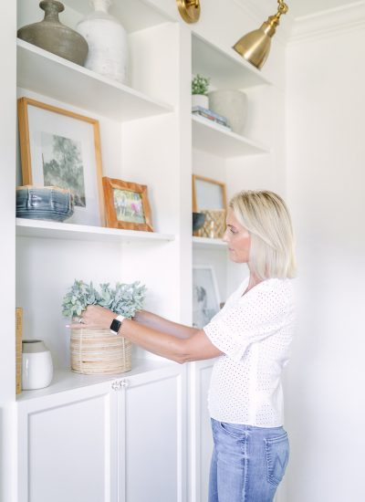 How To Decorate Shelves & Bookcases