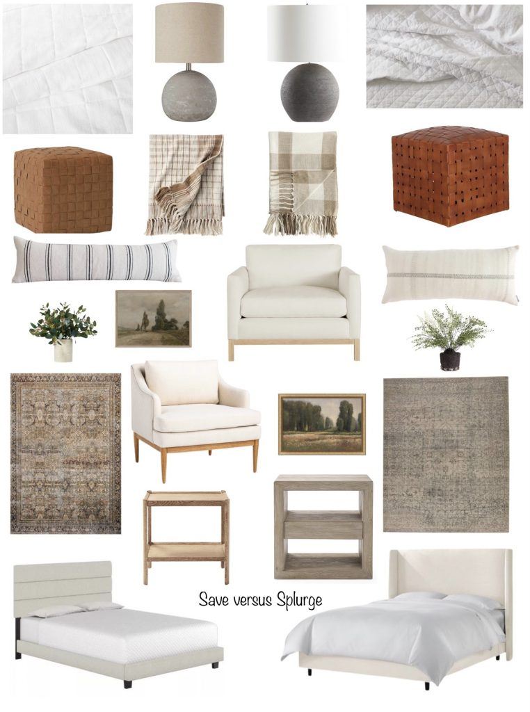simple bedroom inspiration ideas from budget to splurge