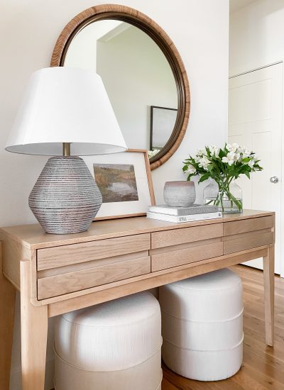 7 Simple Tips For Styling An Entryway Table