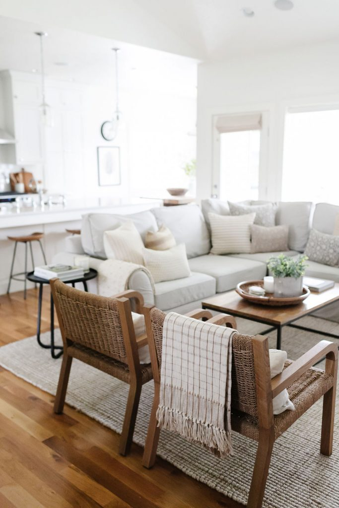 readers' favorite things this month including this pottery barn rug