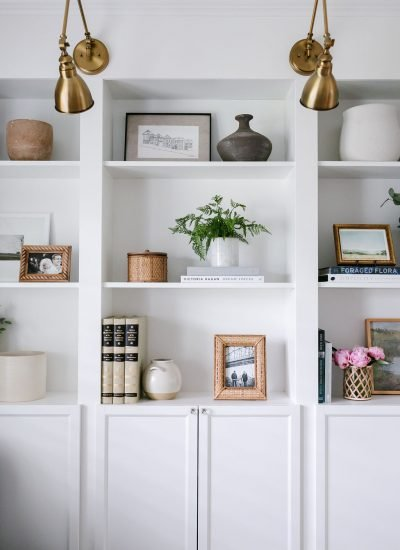 How To Decorate Shelves & Bookcases: 7 Simple Steps