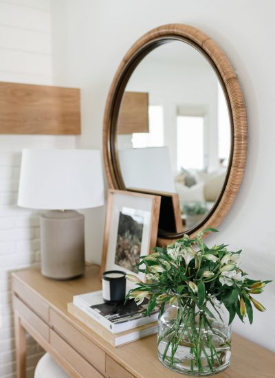 No Fail Items For Styling A Console Table