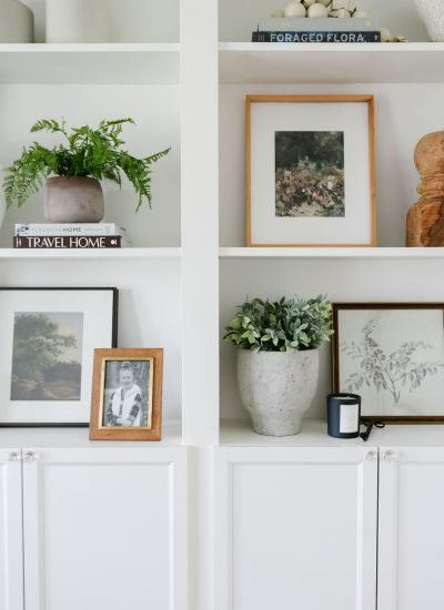 How To Style Bookshelves For Fall